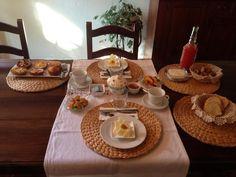 L'accogliente colazione al @BBVillaMustafa #inMontefalco foto di @AzzetaZeta