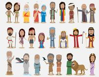 1000+ images about Bible Metanarrative on Pinterest ...  Bible Characters For Children