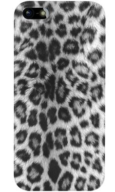 Go wild snow leopard style. Design you own phone case for iPhone, Samsung and more.