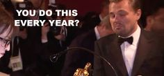How Leonardo DiCaprio Celebrated His First Oscar Win   Vanity Fair
