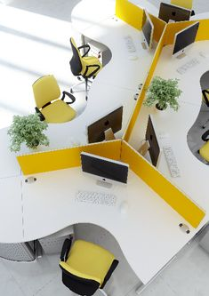 contemporary office workstations - Google Search