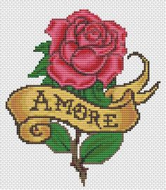 Just For You  Mini Cross Stitch CHART by TheArtofCrossStitch, $4.99