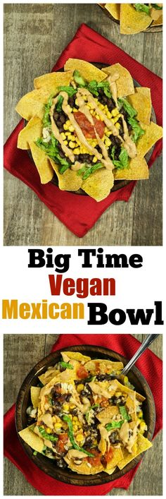 You have to taste it to believe it! Make a Salsa Taco Style Bowl or a Cheesey Enchilada Style Bowl. Just DIG IN. Vegan Mexican Recipes, Best Vegan Recipes, Vegan Dinner Recipes, Dairy Free Recipes, Whole Food Recipes, Cooking Recipes, Healthy Recipes, Gluten Free, Vegan Foods