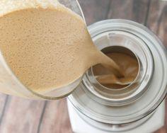 Coffee Ice Cream-adding ingredients to Cuisinart Ice Cream Machine
