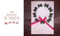 Card natalizia di pasta   MiniFactory pasta greetings card biglietto di auguri di Natale e segnaposto Riciclo creativo di Natale attività natalizie, calendario dell'avvento advent calendar activity diy & craft per bambini for kids