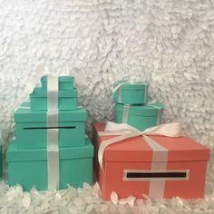 Card Box With Ribbon
