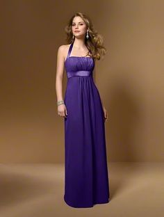 Alfred Angelo Bridal Style 7016 from Bridesmaids, color eggplant