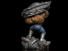 """ArtStation - Ben Grimm """"The Thing"""", Earl Vincent Kasilag Grimm, Master Chief, Sculpting, Scale, Artwork, Iron Man, 3d, Realistic Baby Dolls, Super Hero Art"""