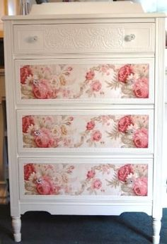 Shabby chic dresser. by antigua sea