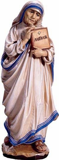 Citta Cattolica: Statue: Santi Femmine in Legno