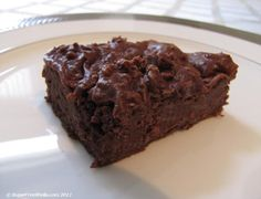 low carb protein brownies  2 cups choc protein powder  1 1/2 cups of unsweetened milk (coconut, almond etc..)  3 eggs  spray pan, cook at 350 for 45 minutes.  allow to cool fully or chill