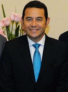 Jimmy Morales, President of Guatemala