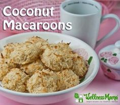 Healthy Coconut Macaroons Recipe - Wellness Mama