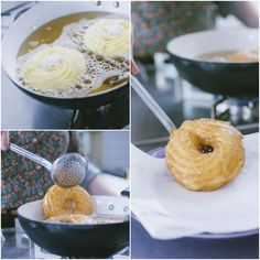 Zeppole Recipe, Mini Desserts, Frittata, Italian Recipes, Holiday Recipes, Food And Drink, Sweets, Cookies, Baking