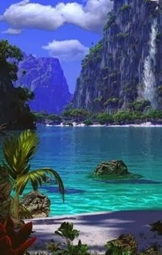 Maya Bay, Thailand. The beach in the film 'The Beach'.