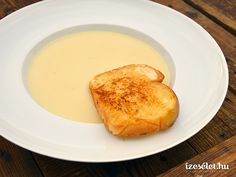 Almás zellerkrémleves Breakfast, Ethnic Recipes, Food, Fine Dining, Morning Coffee, Essen, Meals, Yemek, Eten