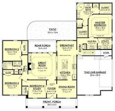 Wilkshire Traditional House Plan 2390sq ft
