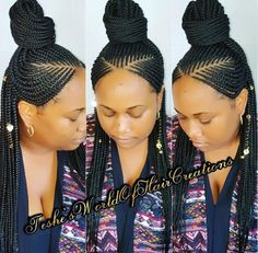 43 Cool Blonde Box Braids Hairstyles to Try - Hairstyles Trends Ghana Braids Hairstyles, Braided Ponytail Hairstyles, African Hairstyles, Black Girls Hairstyles, Cornrows Hair, Woman Hairstyles, Locs, Blonde Box Braids, Black Girl Braids