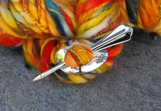 Spoon Shawl Pins, Formal Dress Shawl Pin, Spoon Jewelry, Re-Purposed Flatware…