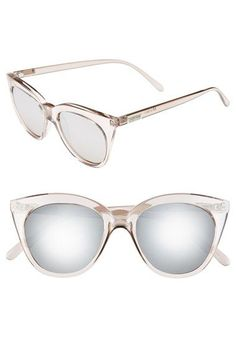 Item #1155378 Le Specs 'Halfmoon Magic' 51mm Cat Eye Sunglasses | Nordstrom