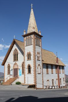 St. Paul's Episcopal Church, Virginia City, Nevada, USA