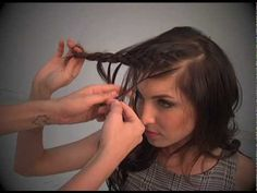 Feather Braid tutorial by Janine from Shear Genius! - YouTube