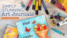 Create art journals that express your creativity and inspire your inner artist. Learn how to turn your blank pages into beautifully executed designs.
