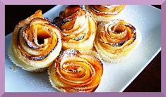 Blätterteig-Apfel-Rosen Rezept