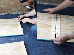 Sandwich Board Sign DIY @ Betties N Brimstone