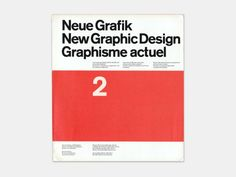 Neue Grafik, New Graphic Design, Graphisme Actuel, No. 2, July 1959