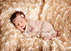 Ava's photo shoot. New born. http://www.etsy.com/listing/96849402/light-tan-floral-lace-stretch-wrap