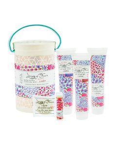 Library of Flowers  Linden Field Bath Goods Sampling Kit