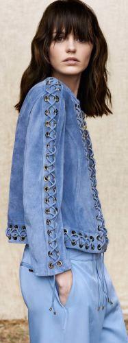 Blumarine. Модная джинсовая женская одежда 2017 - на зиму, весну, лето
