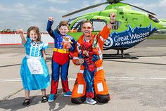 Be a Hero and support your local air ambulance!
