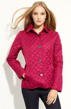 Burberry Brit Quilted Short Jacket. Hopefully this will be my birthday present.