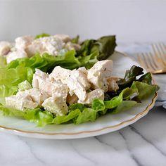 healthy chicken salad via Madebygirl.blogspot.com