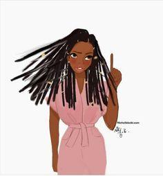 Don't touch my hair Free Black Girls, Black Girl Art, Black Women Art, Black Women Fashion, Black Girl Magic, Art Girl, African Girl, African American Art, Body Image Art