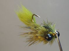 Clouser Swimming Nymph (variation) SBS - Step by Step Patterns & Tutorials - Fly Tying