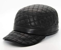 7372311246c Genuine Leather Baseball Cap Casquette Baseball