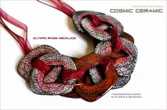 Cosmic Ceramic - Faux Ceramic in Polymer Clay | Flickr - Photo Sharing!