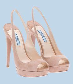 zapato mujer prada beige
