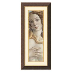 Have to have it. Birth of Venus Framed Wall Art - 16W x 34H in. $149.99