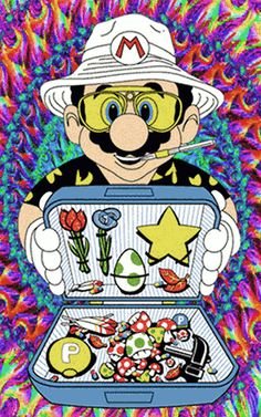 Good Weed Good Week  Follow @stoner_club and get your dailly dose,  happy #holidaze    mario