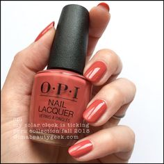 51 Ideas for nails fall 2018 trends opi Fall Nail Trends, Nail Color Trends, Opi Nail Colors, Gel Polish Colors, Fall Nail Colors, Winter Colors, Winter Blue, Light Colored Nails, Light Nails