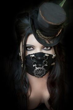 Dark Victorian - not into the hat. love the mask.