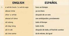 El idioma inglés tiene muchas expresiones idiomáticas que a veces son difíciles de entender, pero es fundamental conocerlas.