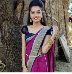 Glamorous Makeup, Indian Teen, Beautiful Girl Photo, India Beauty, Girl Photos, Beauty Women, Sari, Glamour, Instagram Posts