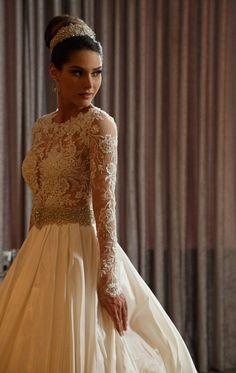Princess Wedding Dresses : vestido-de-noiva-casamoda-noivas-fernanda-machado-lucas-anderi-murillo-medina-08