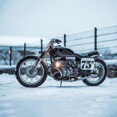 All about the patina: Nico Mueller's stunning tracker-style BMW R75/5.