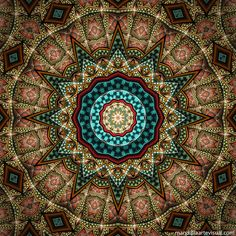 """""""Glimpse"""" - mandala by Marcelo Dalla, via Flickr"""